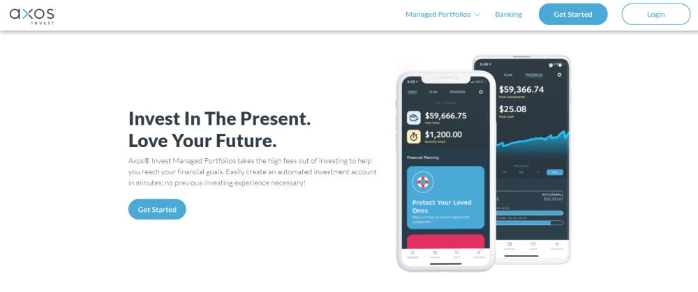 AxosInvest website