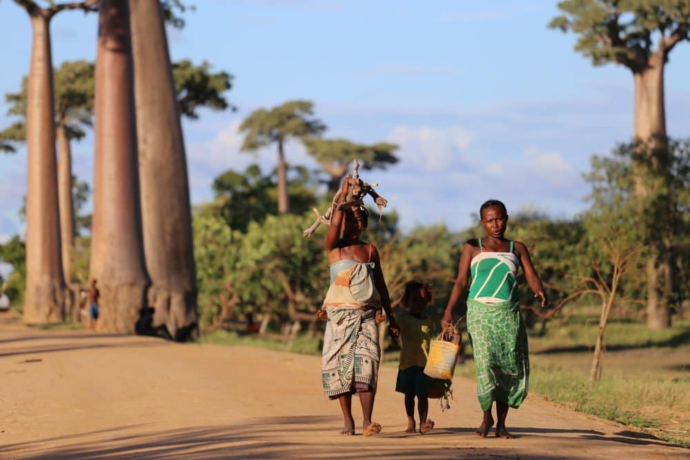 A family in Madagascar