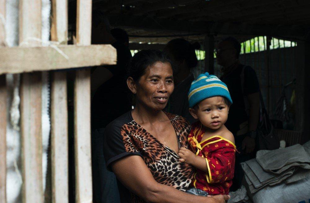Woman refugee